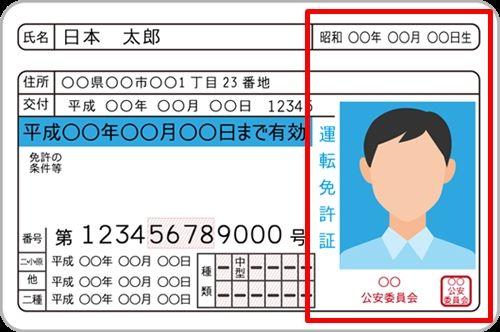 出会い系の身分証明書