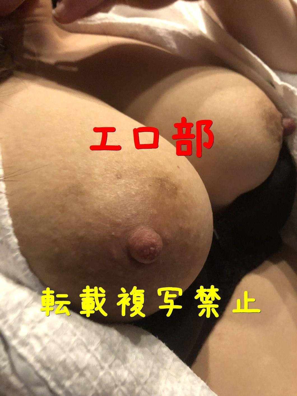 若妻の爆乳